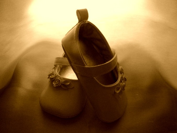 Sepia shoes