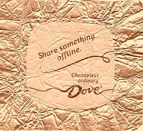 Share something offline