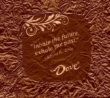 Inhale the future chocolate